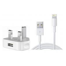 Original Apple iPhone Charger Plug and cable for iPhone 5 , 5S, 5C, 6, 6 Plus and 6S