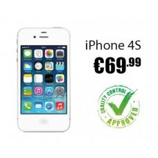 Benutzt Apple iPhone 4S 16GB JETZT NUR ENTSPERRT €69.99